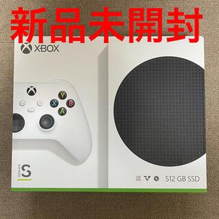 エックスボックス(Xbox)の新品未開封 Xbox Series S (家庭用ゲーム機本体)