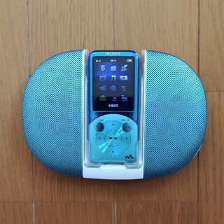 ウォークマン(WALKMAN)の【匿名配送】ソニー ウォークマン NW-S754  Blue(ポータブルプレーヤー)