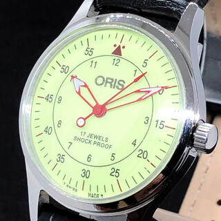 オリス(ORIS)の【レトロ】オリス/ORIS/メンズ腕時計/Vintage/希少/ビンテージ(腕時計(アナログ))