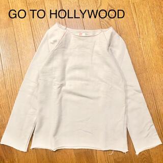 ゴートゥーハリウッド(GO TO HOLLYWOOD)のビンテージウラケ カットオフ スウェット トレーナー(Tシャツ/カットソー)