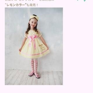アナスイミニ(ANNA SUI mini)のシャーリーテンプルジュニームーンキューティードレス 阪急うめだ本店限定100(ワンピース)