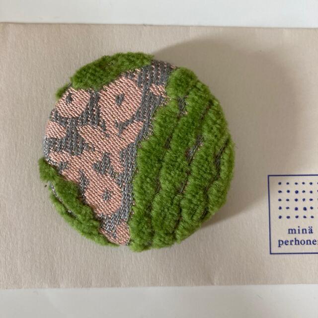 mina perhonen(ミナペルホネン)のミナペルホネンブローチ レディースのアクセサリー(ブローチ/コサージュ)の商品写真