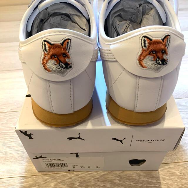 MAISON KITSUNE'(メゾンキツネ)のPUMA x Maison Kitsune ローマ スニーカー キツネ プーマ メンズの靴/シューズ(スニーカー)の商品写真
