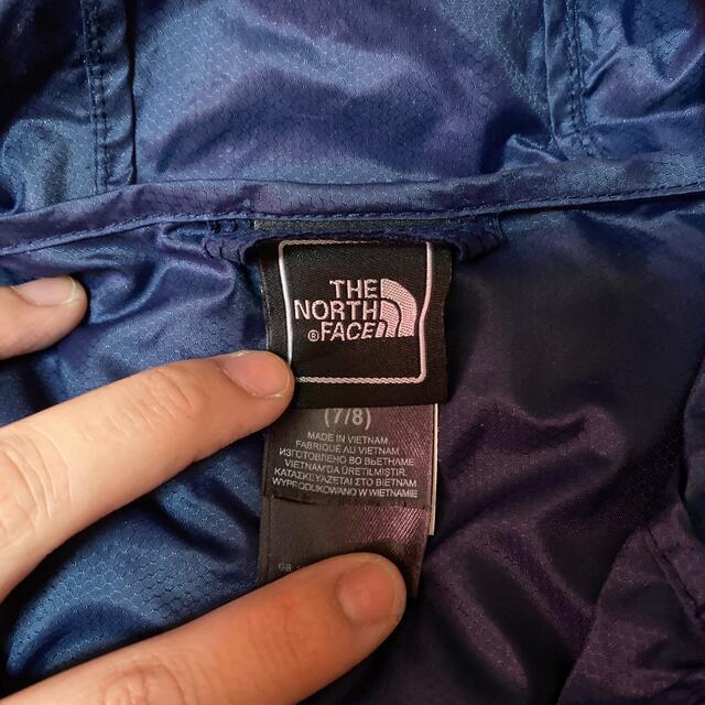 THE NORTH FACE(ザノースフェイス)のノースフェイス 美品(記名有)130cm ジャンバー キッズ/ベビー/マタニティのキッズ服男の子用(90cm~)(ジャケット/上着)の商品写真