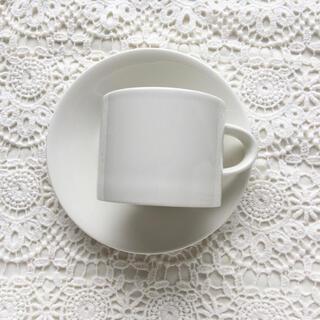 アラビア(ARABIA)のArabia EEVA エヴァ コーヒカップ&ソーサー ヴィンテージ(グラス/カップ)
