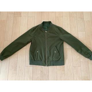 グリーンレーベルリラクシング(green label relaxing)の【のぶなが5556様専用】グリーンレーベル MA-1(ブルゾン)