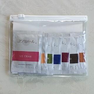 エバメール(evermere)のエバメール サンプルセット 透明ケース、おまけ付(化粧水/ローション)
