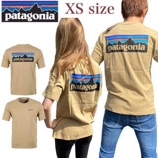 patagonia - パタゴニア Tシャツ オーガニック P-6 ロゴ 半袖 クラシックタン XS