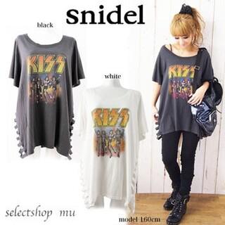 snidel - snidel スナイデル KISS T シャツ ワンピース