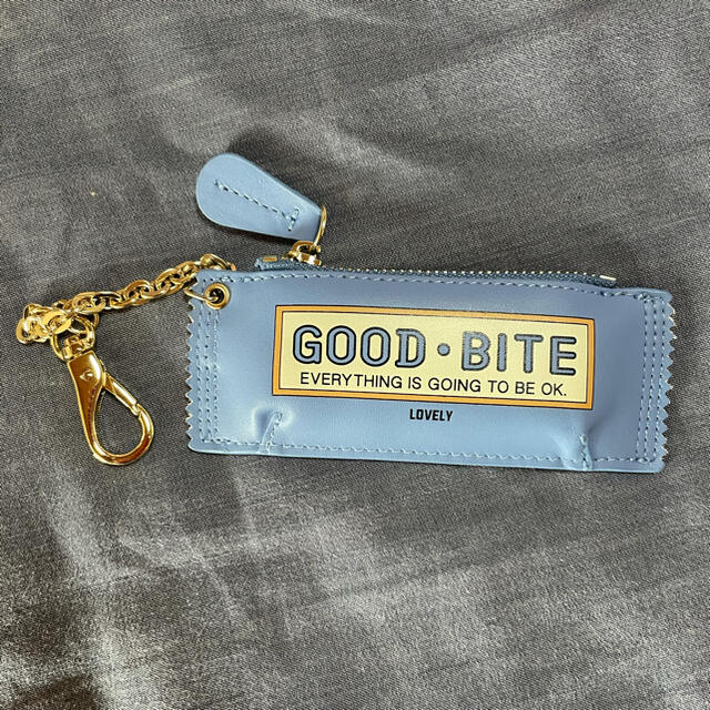 DEUXIEME CLASSE(ドゥーズィエムクラス)の【GOOD GRIEF】 GOOD BITE MINI CASE  ブルー レディースのファッション小物(キーホルダー)の商品写真
