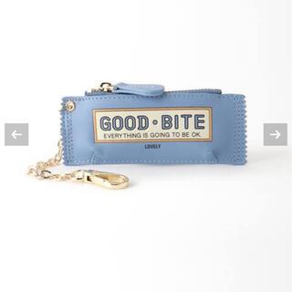 DEUXIEME CLASSE - 【GOOD GRIEF】 GOOD BITE MINI CASE  ブルー