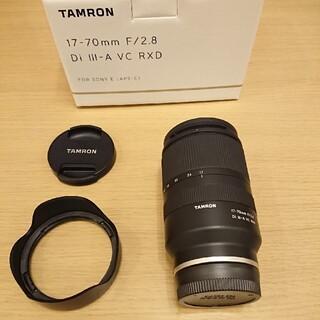 タムロン(TAMRON)のTAMRON 17-70mm F/2.8 Di III タムロン 17-70(レンズ(ズーム))