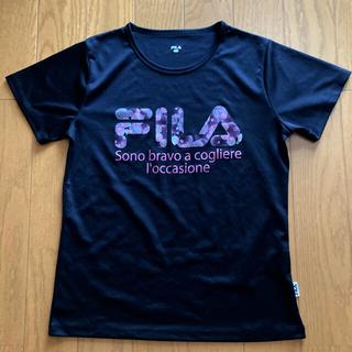 FILA - FILA Tシャツ   ブラック  L
