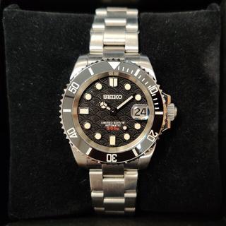 SEIKO - ★週末値下★300M防水「MM300 サブマリーナカスタム•青海波」自動巻腕時計