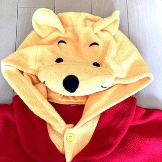 クマノプーサン(くまのプーさん)のくまのプーさん 着ぐるみ パジャマ コスプレ衣装 大人用(衣装)