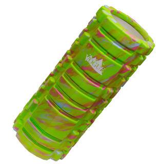 新品 マーブルグリーン フォームローラー ヨガ 筋膜リリース ストレッチ(ヨガ)