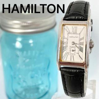 ハミルトン(Hamilton)の87 ハミルトン時計 レディース腕時計 スモールセコンド スクエア アンティーク(腕時計)