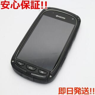 キョウセラ(京セラ)の美品 SKT01 TORQUE ブラック (スマートフォン本体)