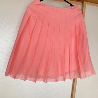 プロポーション(PROPORTION)のプリーツ スカート  ピンク 新品(ひざ丈スカート)