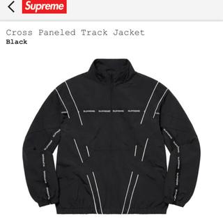 Supreme - supreme cross Paneled Track Jacket 新品 M