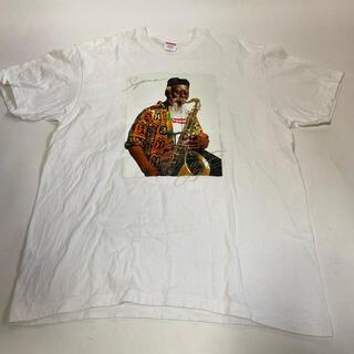 シュプリーム(Supreme)のsupreme Pharoah Sanders tee 中古 白L(Tシャツ/カットソー(半袖/袖なし))