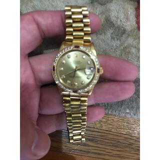 ロレックス(ROLEX)のロレックス デイトジャスト 金無垢 k18YG 純正ベゼルのみ(腕時計)