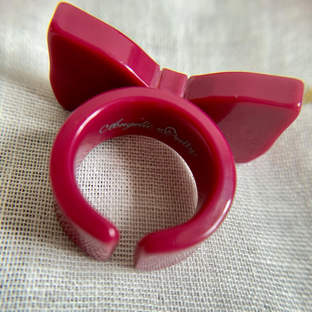 Angelic Pretty(アンジェリックプリティー)のリボンリング レディースのアクセサリー(リング(指輪))の商品写真