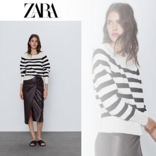 ZARA - ZARA ボーダーニット