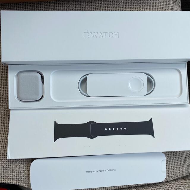 Apple Watch(アップルウォッチ)のapple  watch 6 GPS 44mm スペースグレー メンズの時計(腕時計(デジタル))の商品写真