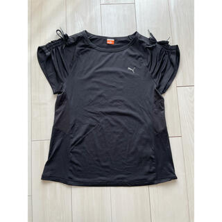 PUMA - プーマ Tシャツ レディース M 黒