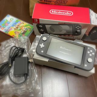 ニンテンドースイッチ(Nintendo Switch)のNintendo Switch Lite本体 あつまれどうぶつの森セット(家庭用ゲーム機本体)