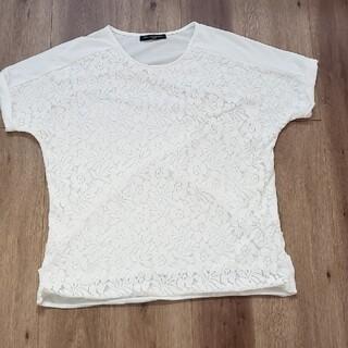 レース 半袖 通勤着に♬(Tシャツ(半袖/袖なし))