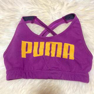 プーマ(PUMA)の新品未着用✨ PUMA トレーニングトップ(ベアトップ/チューブトップ)