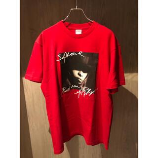 シュプリーム(Supreme)の極美品 Supreme Mary J. Blige Tee 赤L 即完売(Tシャツ/カットソー(半袖/袖なし))