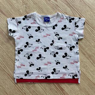 Disney - バースデイ 新品未使用 Mickey 総柄 ミッキー Tシャツ 90