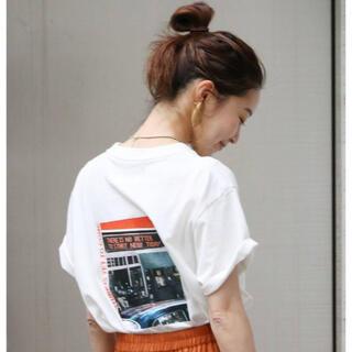 Ungrid - ungrid カラーフォトTシャツ