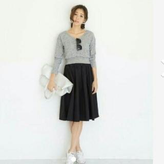 スタイルデリ(STYLE DELI)のスタイルデリ コンタクトトップス+Made in Japanスカートセット(ニット/セーター)