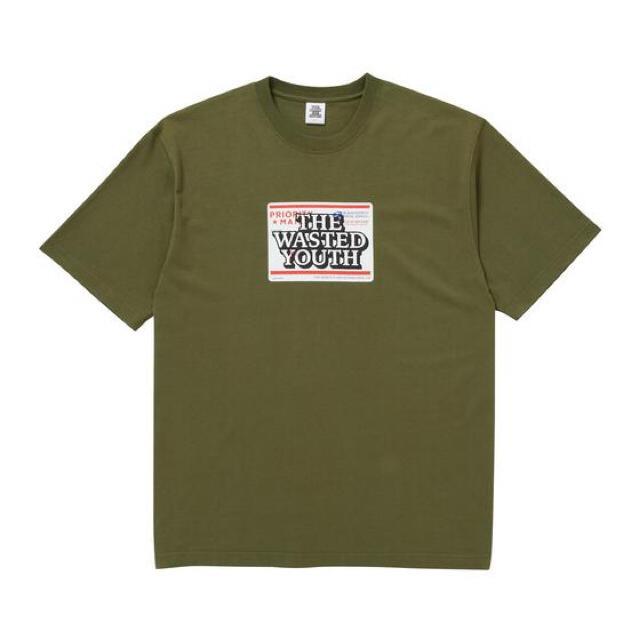 GDC(ジーディーシー)のwasted youth black eye patch Tシャツ Lサイズ メンズのトップス(Tシャツ/カットソー(半袖/袖なし))の商品写真