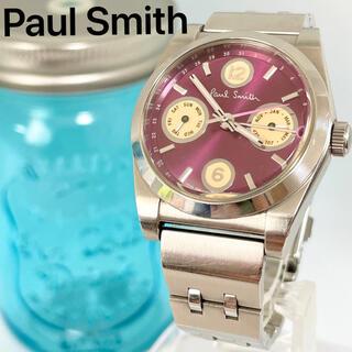Paul Smith - 4 ポールスミス時計 レディース腕時計 パープル 紫 デイデイト アンティーク