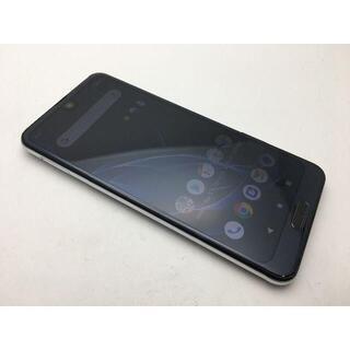 シャープ(SHARP)のSIMフリー美品au AQUOS R2 SHV42 ブラック 511(スマートフォン本体)