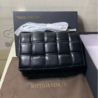 Bottega Veneta - ボッテガ ヴェネタ カセット ショルダーバッグ ブラック
