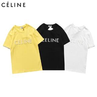 celine - 2枚8000円 CELINE 1803 半袖/Tシャツ ロゴ