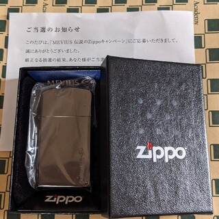 ZIPPO - Zippo ジッポ   メビウス MEVIUS ライター 当選品