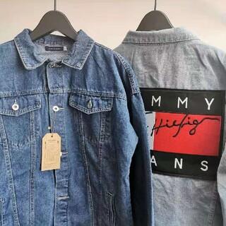 トミー(TOMMY)のTOMMYトミージーンズ デニムジャケット男女兼用(Gジャン/デニムジャケット)