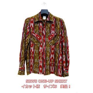 エスツーダブルエイト(S2W8)の【美品】South2West8 オープンカラーシャツ イカット柄 S2W8(シャツ)