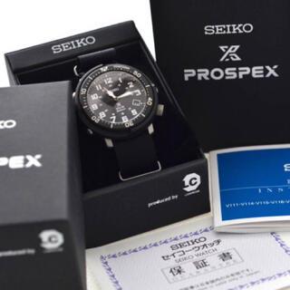 セイコー(SEIKO)の★セイコー★プロスペックスフィールドマスター★V157-0CJ0★ソーラー★黒(腕時計(アナログ))