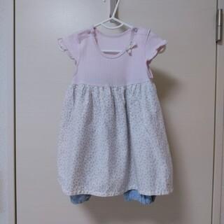 アカチャンホンポ(アカチャンホンポ)のベビー服 ワンピース 80サイズ(ワンピース)
