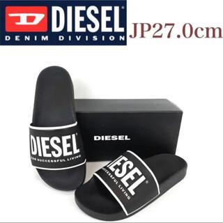 DIESEL - ディーゼル サンダル スリッパ ビーチサンダル シャワーサンダル 黒27cm