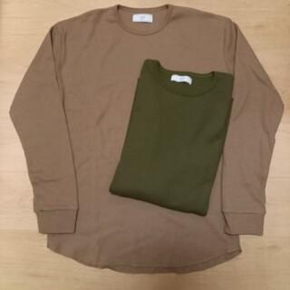 エディフィス(EDIFICE)の新品未使用含む 2点セット 417 EDIFICE サーマル ロングTシャツ(Tシャツ/カットソー(七分/長袖))