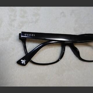 Gucci - GUCCI 眼鏡メガネ 黒縁 蜂 ハチ